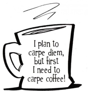coffee carpe diem