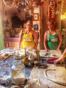 Making pasta in Lecce at The Awaiting Table