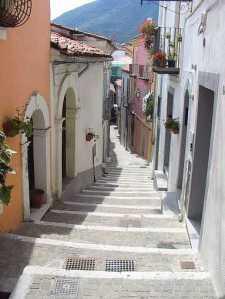 Rivellos street steps