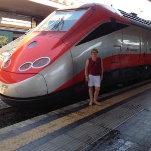 Freccia Rossa Train, Italy