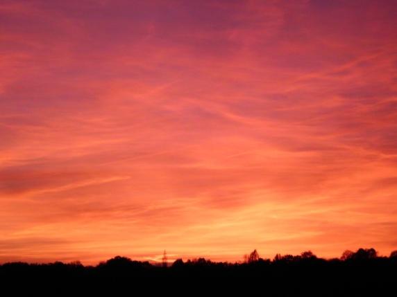 Sunset in France - November '15