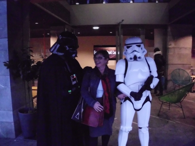 Even Darth Vader and the Storm Troopers like to vacation in Spain (Bilbao)