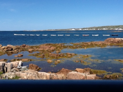 Harbour on Fogo Island