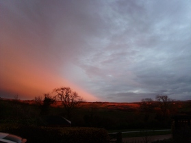 Sunset in Thorpe Satchville