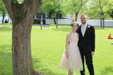 Katie and Josh, HHMRH Grad 2016