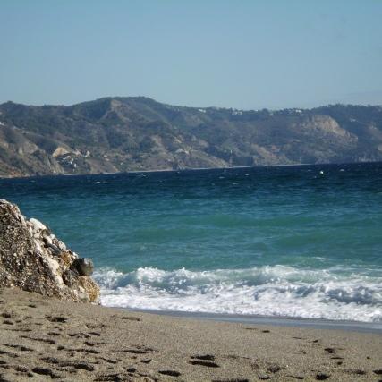 Burriana Beach, Nerja
