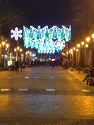 Christmas Lights - Balcon de Europa